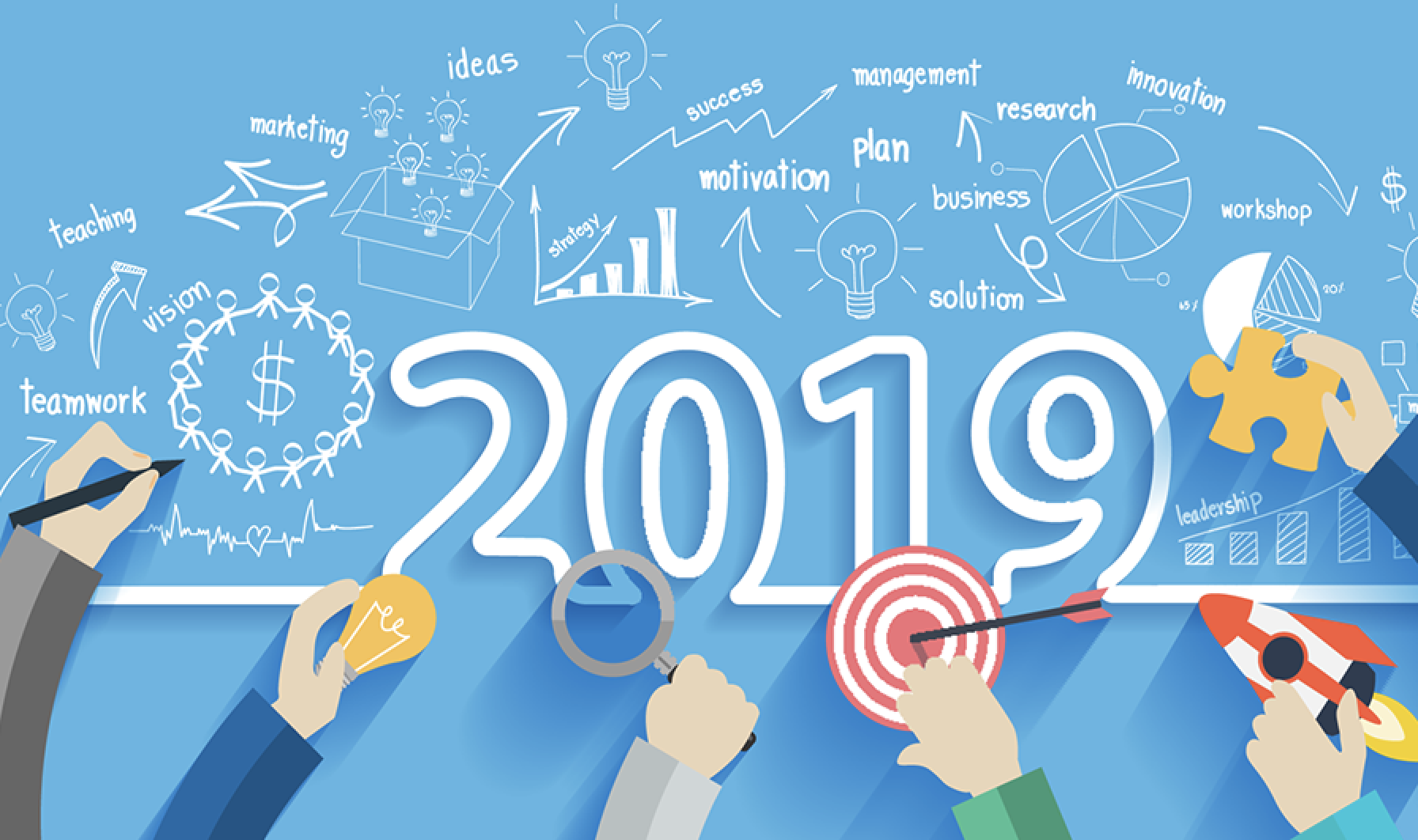 Las 5 mejores tendencias de marketing digital para 2019